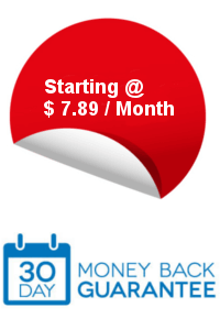 30 days money back guarantee on our Cloud Plans