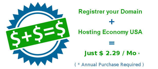 Save money and time with our pre-made hosting plans